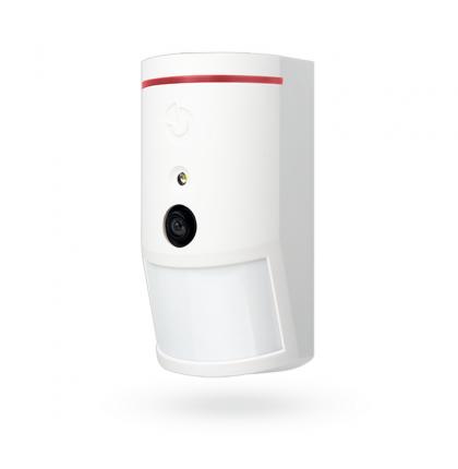 PIR detector with camera